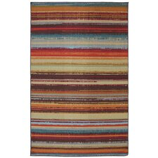 Outdoor/Patio Multi Avenue Stripe Rug
