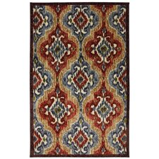 New Wave Multi Primary Ikat Rug