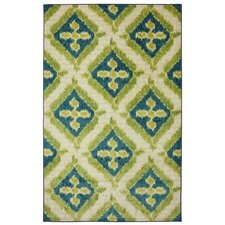 <strong>Mohawk Select</strong> New Wave Lime Becker Rug