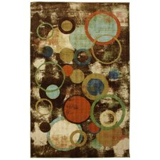 New Wave Multi Kaleidoscope Texture Rug