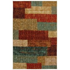 New Wave Multi Urban Abstract Rug