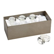 Casablanca Napkin Rings (Set of 4)