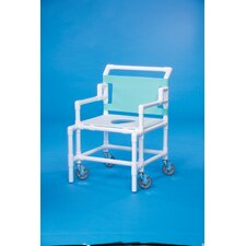 "Bariatric Shower Chair with 24"" Between Arms"