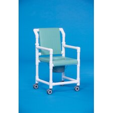 Deluxe Shower Commode with Soft Seat
