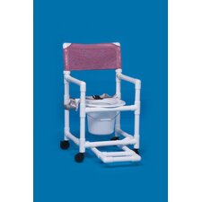 <strong>Innovative Products Unlimited</strong> Standard Line Commode with Footrest and Seat Belt