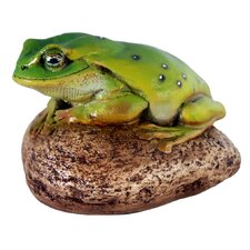 <strong>Design Toscano</strong> Toad on Rock Statue