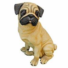 Wrinkles, the Pug Dog Figurine