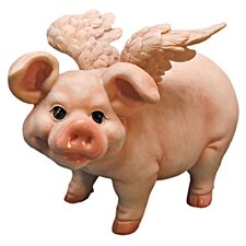 <strong>Design Toscano</strong> Hog Heaven Flying Pigs Standing Statue