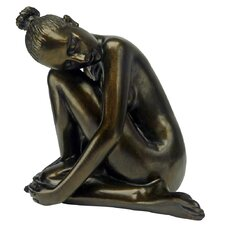 <strong>Design Toscano</strong> Visions of Leila Nude Female Study Head Turned Figurine