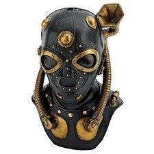 Steampunk Apocalypse Gas Mask Statue