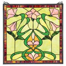 Nouveau Lily Window