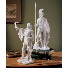 2 Piece Greek Gods Ares and Apollo Sculpture