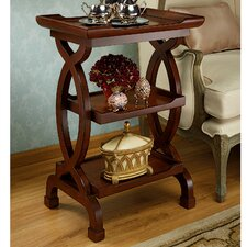 Helix Etagere End Table