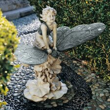 <strong>Design Toscano</strong> A Fairy's Wondrous Butterfly Ride Statue