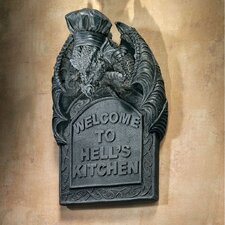<strong>Design Toscano</strong> Hell's Kitchen Sculptural Wall Décor (Set of 2)