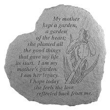 Mother's Garden...Memorial Garden Marker Stepping Stone
