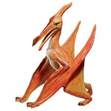 Scaled Jurassic Pterodactyl Dinosaur Statue