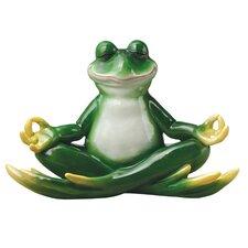 Strike a Pose Zen Yoga Frog Statue