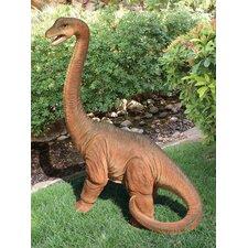 Scaled Jurassic Brachiosaurus Dinosaur Statue