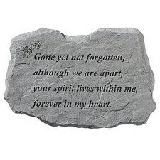 Gone Yet Not Forgotten: Memorial Garden Marker Stepping Stone