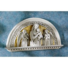 Blessed Virgin and Child Religious Arch Wall Décor