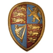 <strong>Design Toscano</strong> Queen Victoria's Royal Coat of Arms Shield Wall Décor