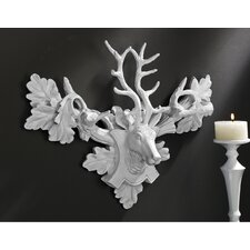 <strong>Design Toscano</strong> Tres Chic Deer Head Wall Décor