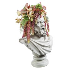 Bust Planter of Antiquity The Philosopher Socrates Statue