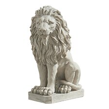 Mansfield Manor Lion Sentinel Statue (Set of 2)