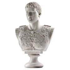 Caesar Augustus of Prima Porta Grand-Scale Sculptural Bust