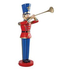 Trumpeting Soldier Statue