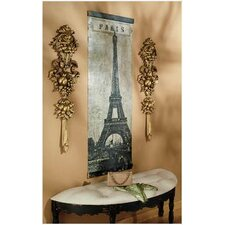 Old World Paris' Eiffel Tower Original Painting on Canvas