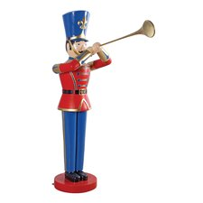 Trumpeting Soldier Statue