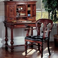 Chateau Anjou Demi-Desk with Arm Chair