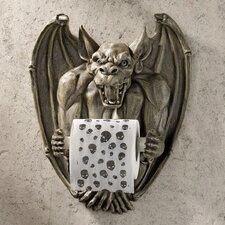 Wall Mounted Flush The Gargoyle Bathroom Tissue Holder