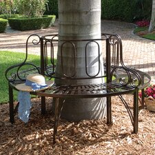 <strong>Design Toscano</strong> Architectural Metal Tree Bench