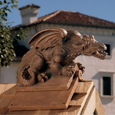 <strong>Design Toscano</strong> Apex The Winged Dragon Roof Cresting Statue