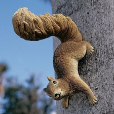 Simone The Squirrel Hanging Statue