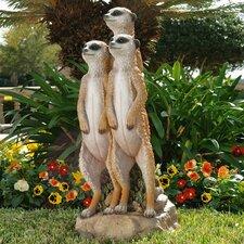The Meerkat Gang Statue