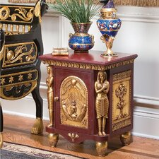 Palace of Ramses Egyptian Occasional End Table