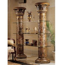<strong>Design Toscano</strong> Egyptian Columns of Luxor Shelves