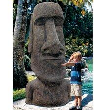 Easter Island Ahu Akivi Moai Monolith Statue