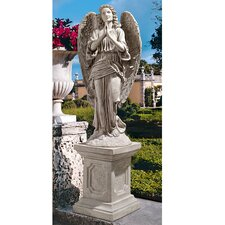 <strong>Design Toscano</strong> Grand Basilica Praying Angel Garden Statue