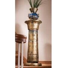<strong>Design Toscano</strong> Egyptian Kings Pedestal Plant Stand