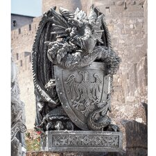 <strong>Design Toscano</strong> Shield The Arthurian Dragon Statue
