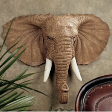 <strong>Design Toscano</strong> Lord Earl Houghton's Elephant Wall Décor