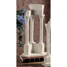 Roman Forum Temple of Vespasian Corner Column Figurine
