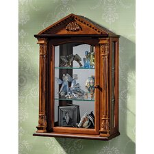 <strong>Design Toscano</strong> Essex Hall Wall Curio Cabinet