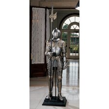 <strong>Design Toscano</strong> 16th Century Italian Armor with Halberd Statue