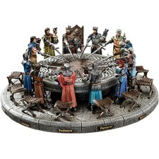 <strong>Design Toscano</strong> King Arthur and Round Table Figurine